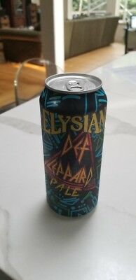 Elysian Brewing Def Leppard Pale Ale Brand New 16 oz Unopened Can