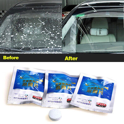 5Pcs Auto Car Windshield Glass Wash Cleaning Concentrated Effervescent Tablet