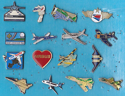 LOT DE 16 PIN'S AVIATION AVIONS AIR DIVERS ++++++++++++++r28++++++++++++++++++