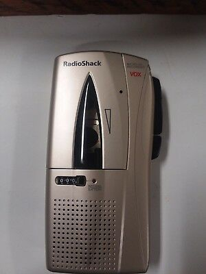 Radio Shack Micro-45 VOX Microcassette Recorder 2 speed(14-1184) - TESTED(FC1-2)