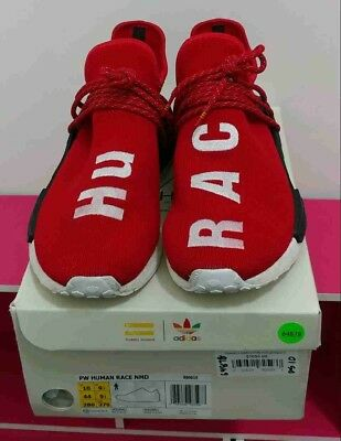 cheaper 20b0a 1a568 PW HUMAN RACE NMD Red size 10. Pharrell Williams Adidas human race