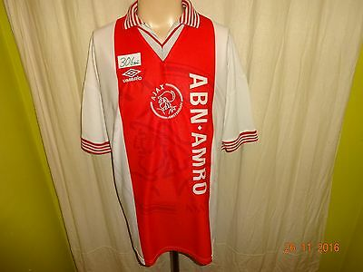 "Ajax Amsterdam Original Umbro Club WM Sieger Trikot 1995 ""ABN- AMRO"" Gr.XL TOP"