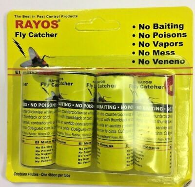 Fly / Insect Paper - Buy Rolls or Pack. Insect Control. Multi Listing.Pestshield