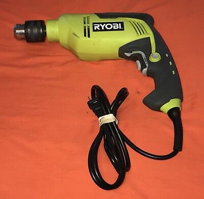 "Ryobi D620H 5/8"" Corded Variable Speed Reversible Hammer Drill"