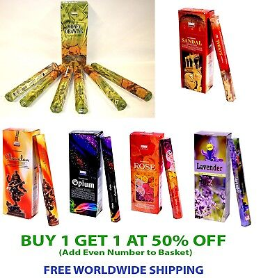 Indian Genuine Darshan Incense Stick Pack of 20 Sticks You pick the Fragrance