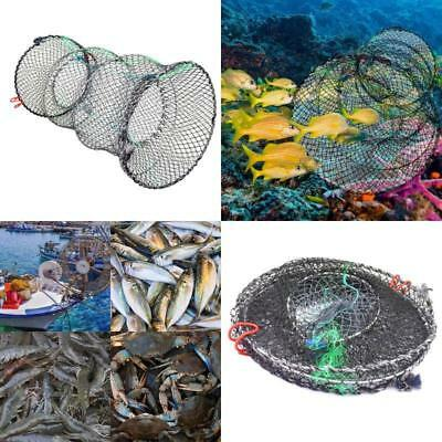 Portable Folded Fishing Trap Collapsible Cast Net Crab Lobster Crawfish Shrimp