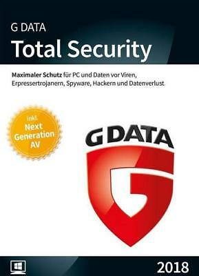 G Data Total Security 2018 3 PC 1 Jahr Download
