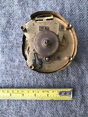 Original Antique high Quality Brass Clock Movement
