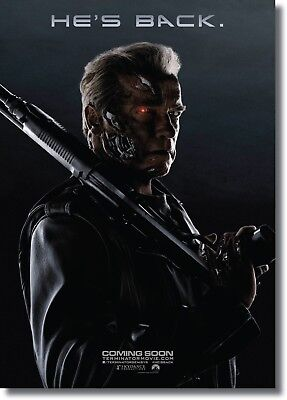 A0 A1 A2 A3 A4 The Terminator Movie Arnold Schwarzenegger Art Poster Print
