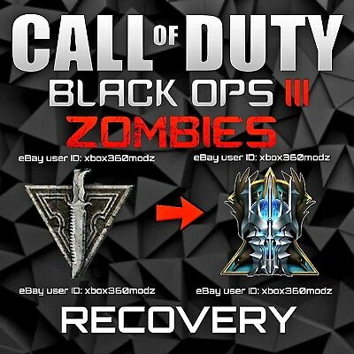 Call of Duty Black Ops 3 III Zombies Recovery Mod   Max Level - Xbox 360 Only