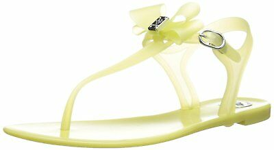 55ef9eda127 NEW BCBGENERATION DELIGHT synthetic yellow 5M (35) bow BCBG Thong ...