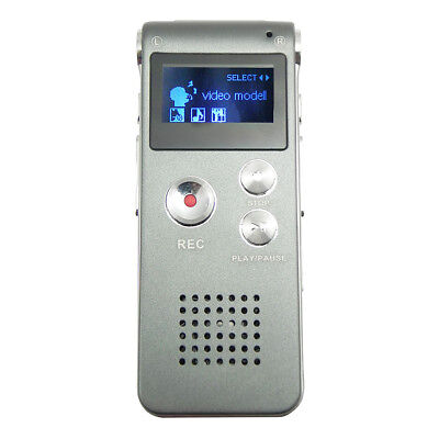 Voice Activated Mini Spy 8GB Digital Sound Audio Recorder Dictaphone MP3 R8G4N