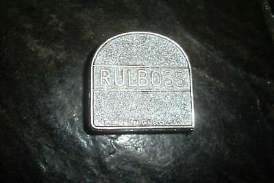 Vintage 7' Bleckmann Solingen Rulboss Steel/metal Tape Measure -Made In Germany