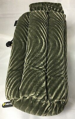 Vatra Bag 8 Green Swirl Hooka Case Glass Water Free Shipping