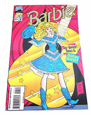 Marvel Comic Book Barbie Sept 57 Toe Tappin Tunes Country Fashion 1995
