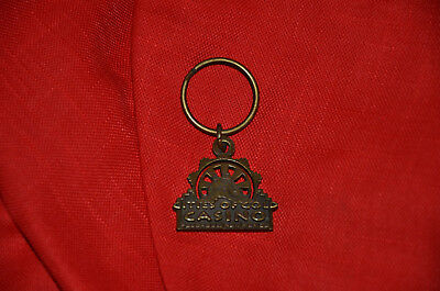 New Mexico Cities of Gold Casino Metal Bronze Keychain Key Chain