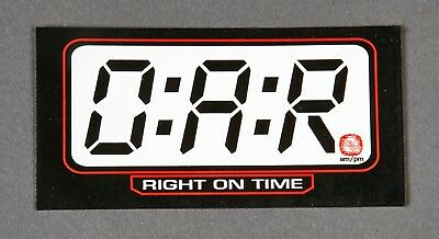 LOT OF (2) O.A.R. right on time wonderful day RARE PROMO ONLY MAGNET LOT OF 2