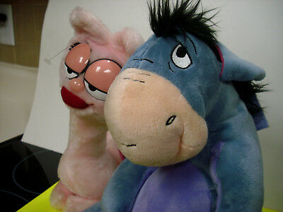Kohls Eeyore plush stuffed animal w/ tag garfield girlfriend lot nice cond kohls