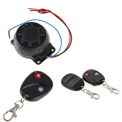 Motorcycle Alarm Remote Control Anti-theft Security System Disarming Bike Finder