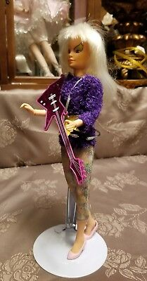 Jem and the Holograms ROXY Doll Clothes Guitar Accessories vintage Hasbro 1980s