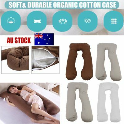 AUS Maternity Pillow Pregnancy Nursing Sleeping Body Support Feeding Boyfriend