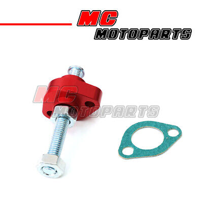 Fir Yamaha TT 350 86-93 Manual Cam Chain Tensioner Red CNC