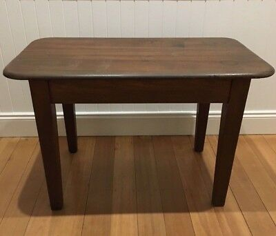 Old Silky Oak Hardwood Small Table