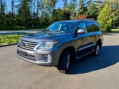 2015 Lexus LX  2015 Lexus LX 570 - FULLY LOADED! DVD LUXURY/TECH PKG WARRANTY!