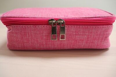 BTSKY High Capacity Pencil Case Pink, 72 Slots for Pencils Pens Markers Storage