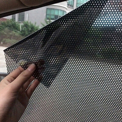 2pcs Car Curtain Side Window Stickers Sun Shade UV Protection Auto Accessories