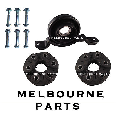 Tail shaft Rubber Couplings + Centre Bearing Commodore VX VY VZ V6 AUTO Wagon