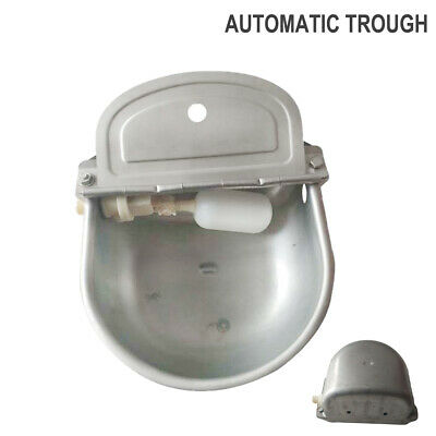 Automatic Water Trough Bowl Steel Feeder Auto Fill Sheep Horse Dog Chicken Cow