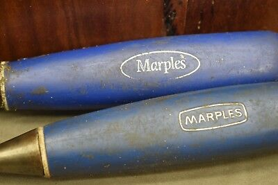 Marples Bevel Edge Chisels Woodworking Old Tools