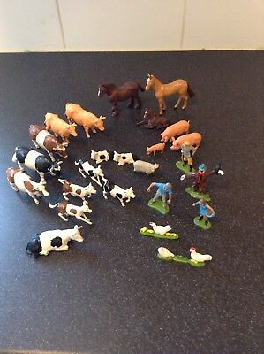 vintage Britains farm Animals Job Lot Bundle Made In England