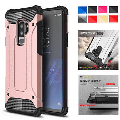 For Samsung Galaxy S5 S6 S7edge S8 Hybrid Rugged Hard Dual Protective Case Cover