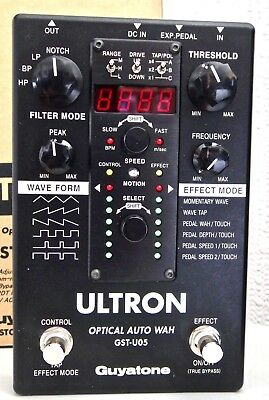 Guyatone ULTRON MUTRON III Filter Sequence Pedal☆MINT COLLECTABLE☆BUY NOW
