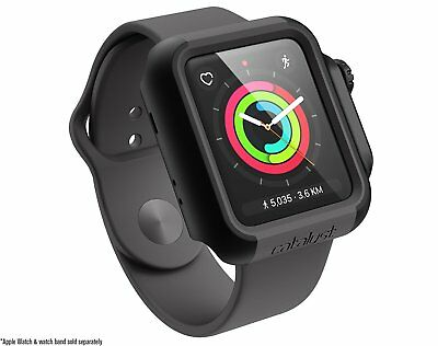 Catalyst Impact Protective Case For Apple Watch 42mm Series 3 & 2 -Stealth Black