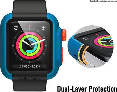 Catalyst Impact Protective Case For Apple Watch 42mm Series 3 & 2 - Blue Ridge