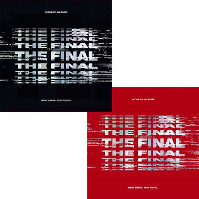 IKON [NEW KIDS:THE FINAL] EP Album RANDOM CD+2p POSTER+Photo Book+P.Card+Sticker