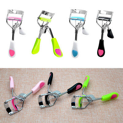 Lady EyeLash Curler False Eyelashes Curlers Clip Beauty Makeup Tool With Comb