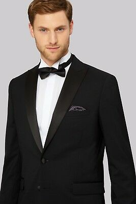 Men's Stunning Single Breasted 2 Button Tuxedo Dinner Prom Wedding Formal Jacket