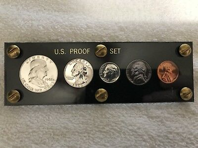 1963 US Mint Silver Proof Set