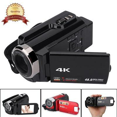 4K HD Wifi Night Vision Digital Camera 1080P WiFi DVR Video Camcorder DV US Plug