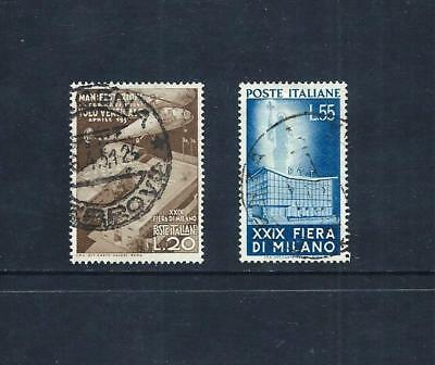 ITALY _ 1951 'MILAN FAIR' SET of 2 _ used ____(543)