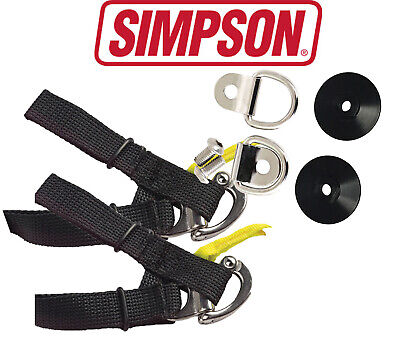 Simpson Hybrid D Ring Quick Release Tether System Kit M6 Thread, Posts & Tether