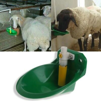 Plastic Automatic Sheep Water Bowl Cattle Drinker Valve Animals Dispenser Farm
