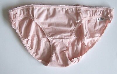 Ex Chainstore Cotton White/&Mint Brief Knickers  UK 10 12 14 16 18 20 22 24 s1