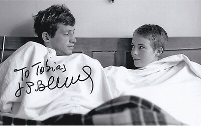 Jean Paul BELMONDO (1933) orig. sign.1950s BREATHLESS photo 20x30 cm / autograph