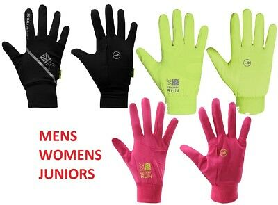 Karrimor Running Gloves Lightweight Key Pocket Mens Ladies Junior Football Sport