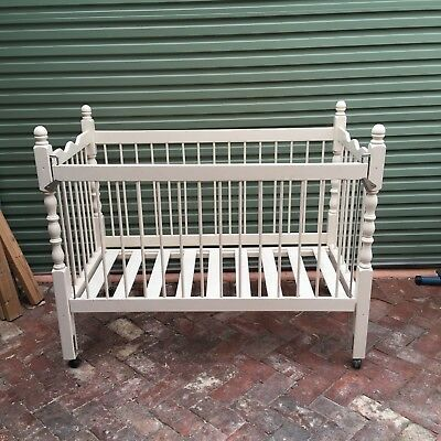 White Baby Cot Baby Bed